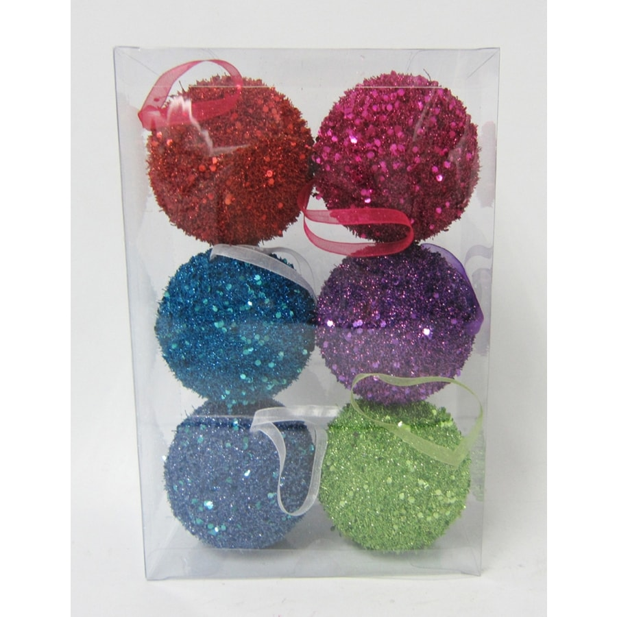 Holiday Living Multicolor Ball Ornament Set Lights