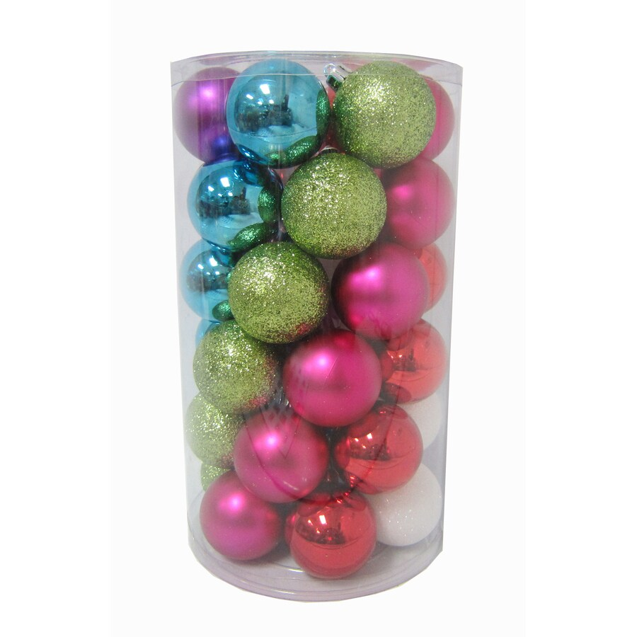 Holiday Living Multicolor Ornament Set Lights
