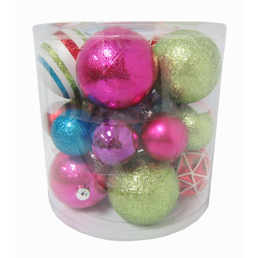 Holiday Living 20-Pack Multicolored Ornament Set