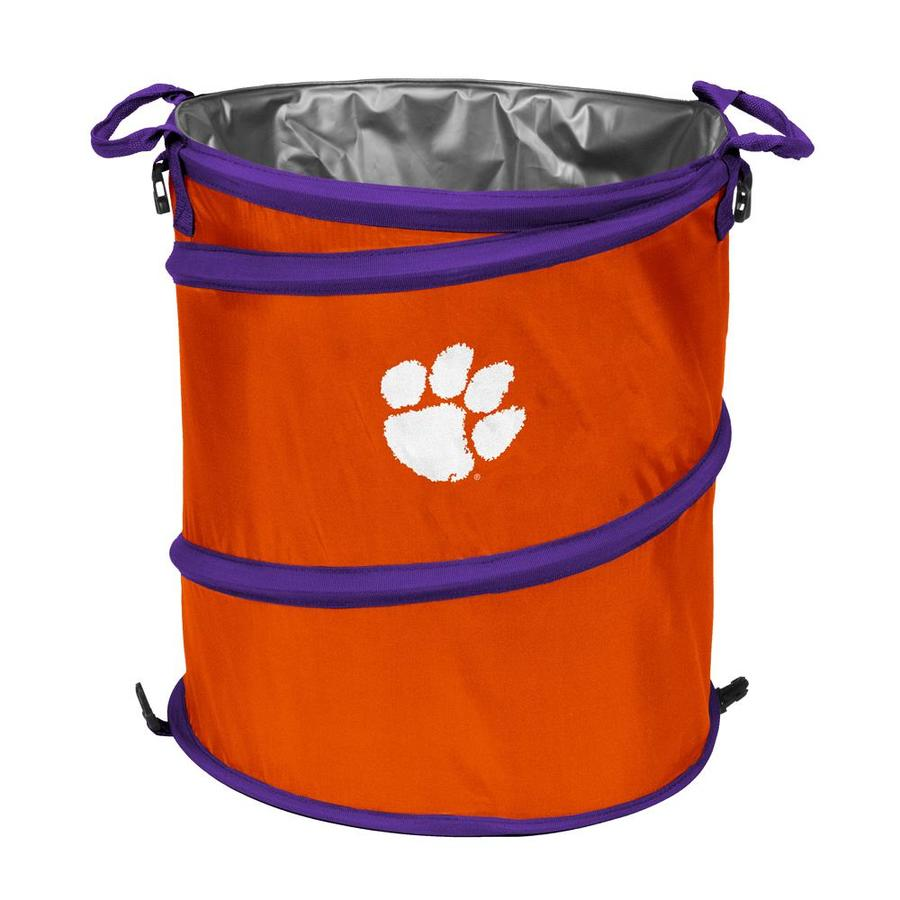 Logo Chairs 13-Gallon Clemson Polyester Personal Cooler