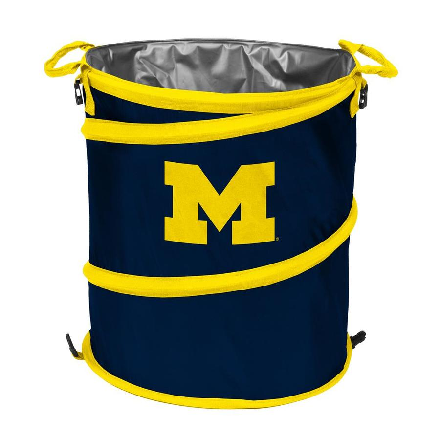 Logo Chairs 13-Gallon Michigan Polyester Personal Cooler
