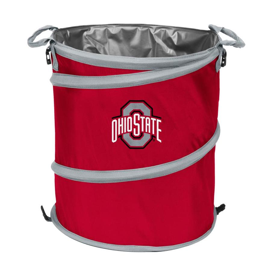 Logo Chairs 13-Gallon Ohio State Polyester Personal Cooler