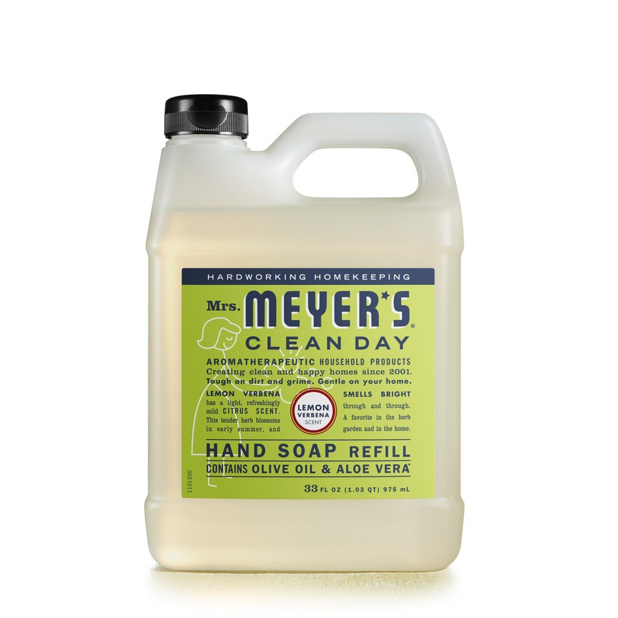 Mrs. Meyer's Clean Day 33-fl oz Lemon Verbena Hand Soap