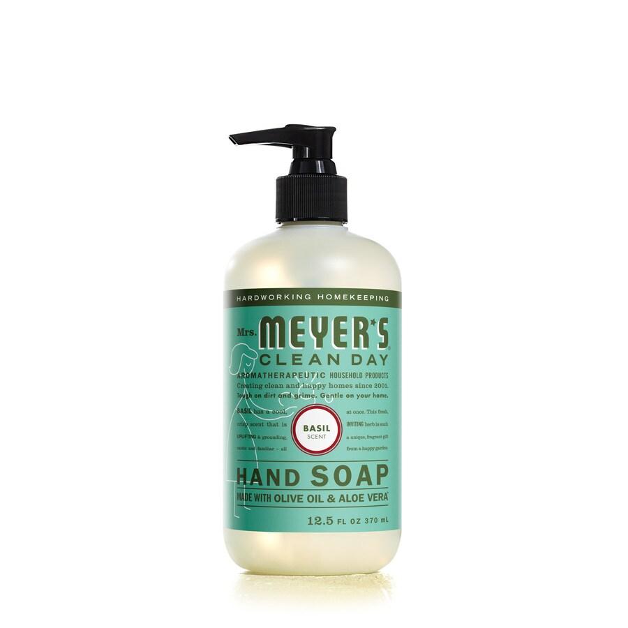 Mrs. Meyer's Clean Day 12.5-fl oz Basil Hand Soap