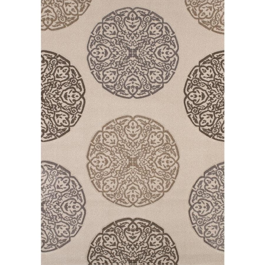 United Weavers Of America Townshend Multicolor Rectangular Indoor Machine-Made Area Rug (Common: 8 x 11; Actual: 94-in W x 126-in L)