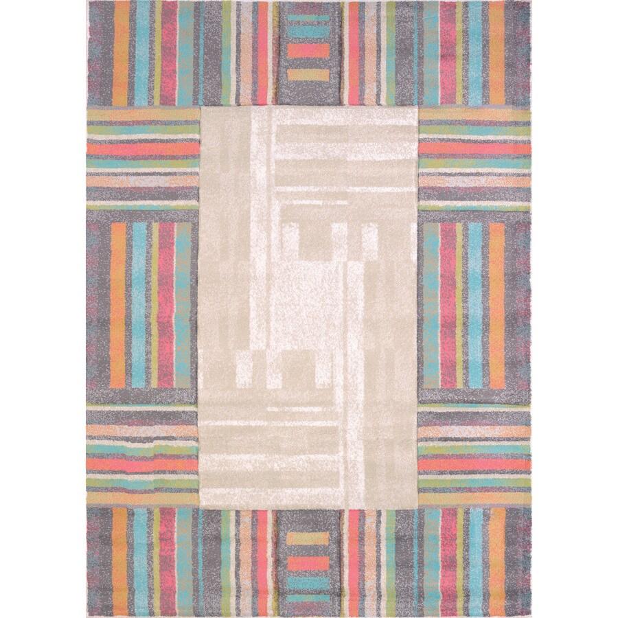United Weavers Of America Urban Galleries Multicolor Rectangular Indoor Machine-Made Area Rug (Common: 8 x 11; Actual: 94-in W x 126-in L)