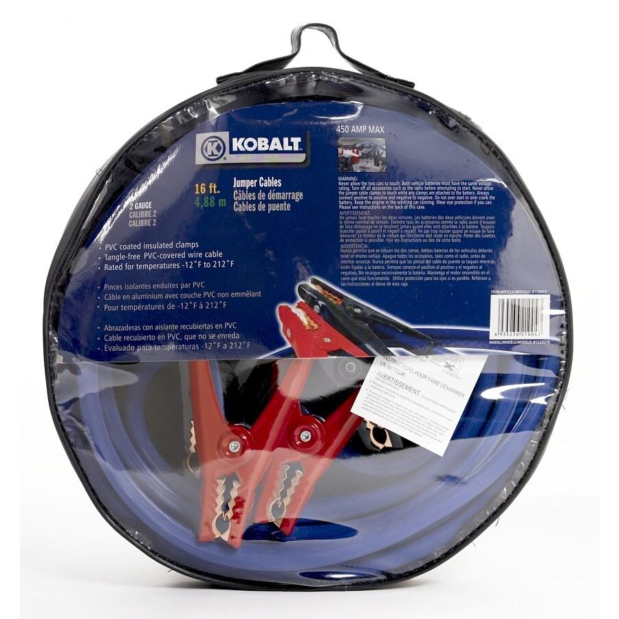Kobalt 450-Amp Car Battery Jump Starter