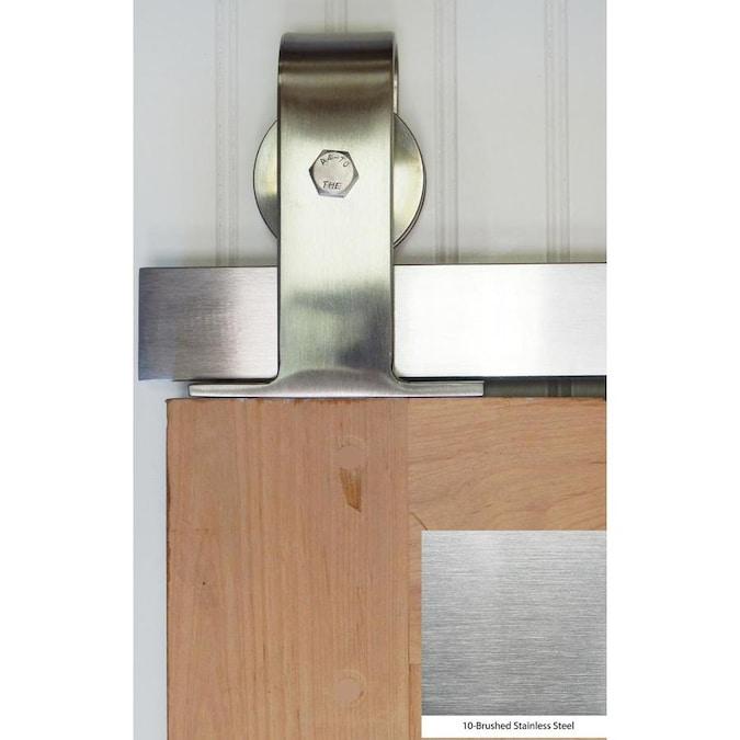 Sheds Barn Door Outdoors Stainless Steel Indoors New Sliding Hand Ga I1U0