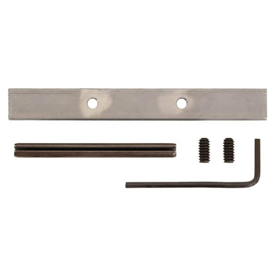 Shop quiet glide 4 in satin nickel steel interior barn for Barn door rollers lowes