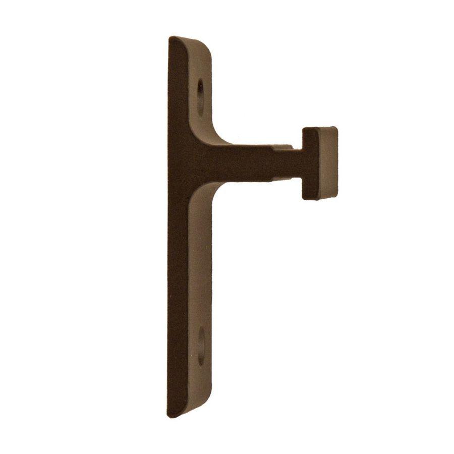 Quiet Glide 1.625-in Bronze Side Mount Sliding Barn Door Kit