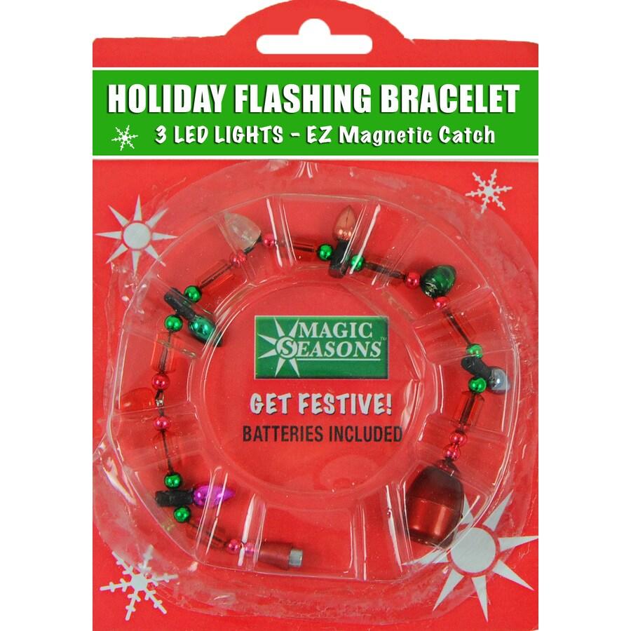 Magic Seasons Lighted Christmas Bracelet