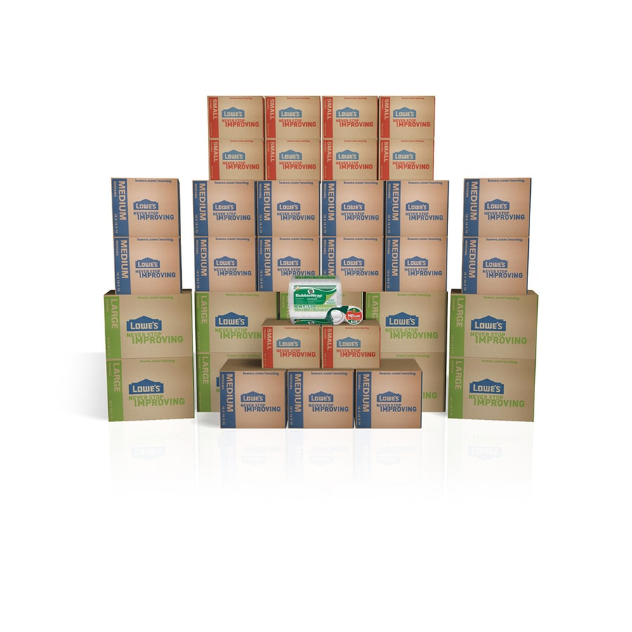 35-Pack Large Cardboard Moving Box Kit (Actual 19.5-in x 19-in)