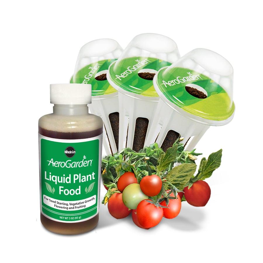 AeroGarden Mighty Mini Tomato 3-Pod Seed Kit
