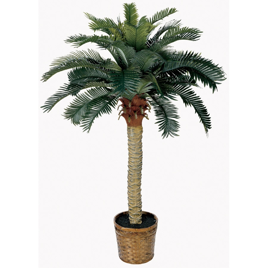 Nearly Natural 48-in Green Sago Palm