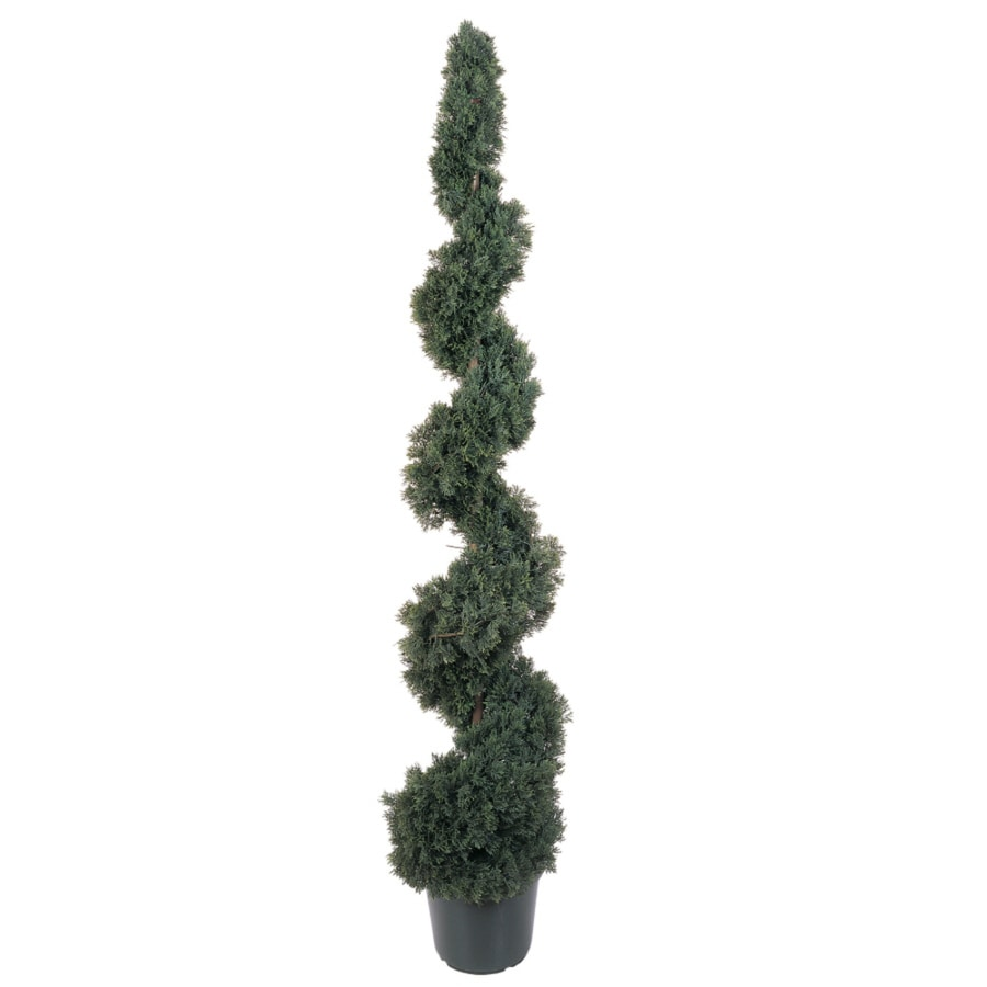 Nearly Natural 60-in Green Cedar