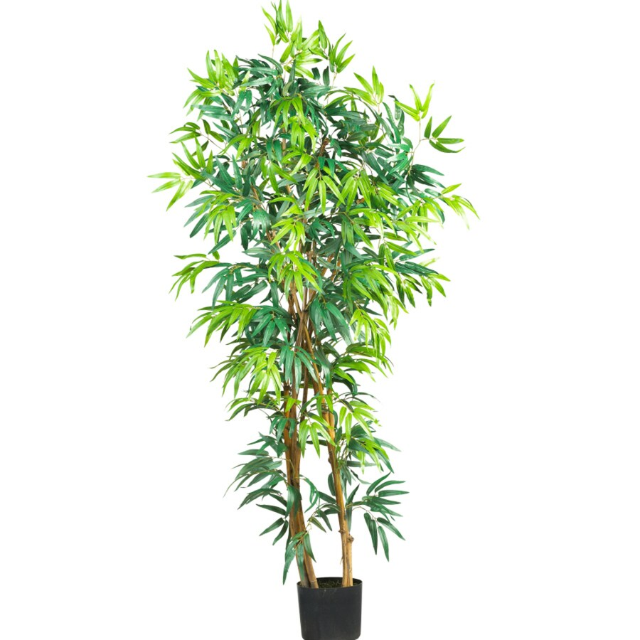 Nearly Natural 60-in Green Bamboo
