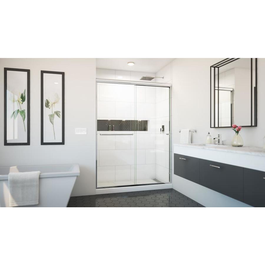 Arizona Shower Door Euro 56-in to 60-in W x 80.375-in H Chrome Sliding Shower Door