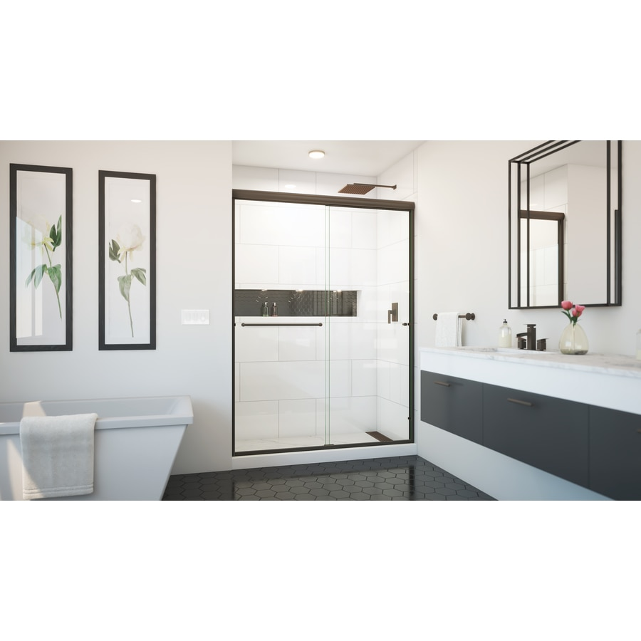 Shop Arizona Shower Door Lite Euro 56 In To 60 In W X 70