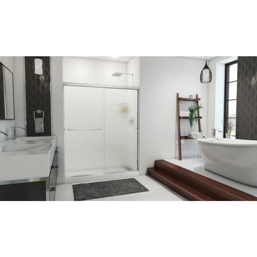 Arizona Shower Door Lite Euro 56-in to 60-in W x 70.375-in H Frameless Sliding Shower Door