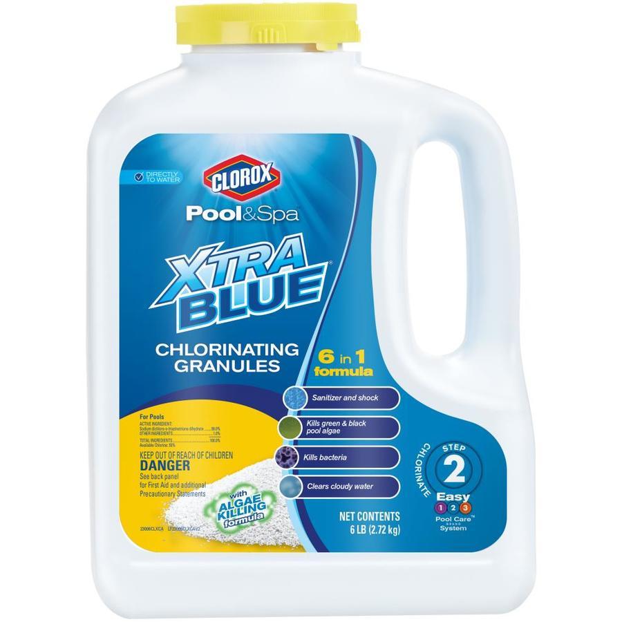 Clorox Pool&Spa 6-lb Granular Pool Chlorine