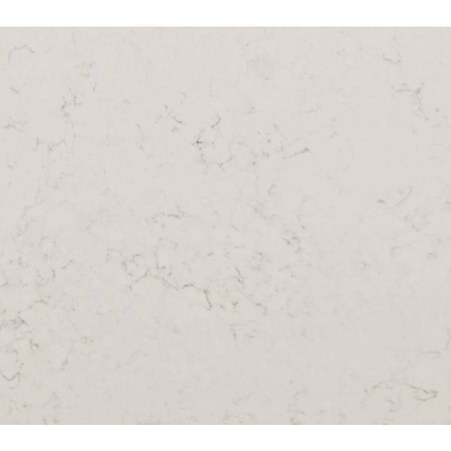 allen + roth Frosted Wind Quartz Kitchen Countertop Sample