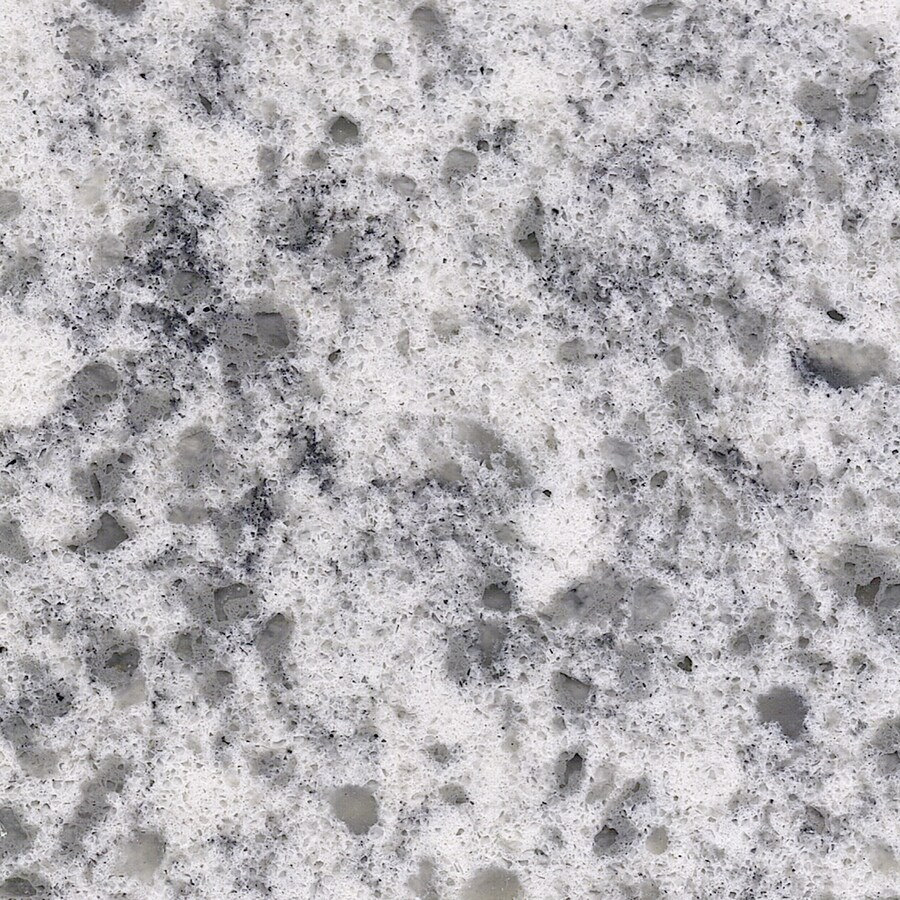 Shop allen roth smokey crest quartz kitchen countertop for Who makes quartz countertops