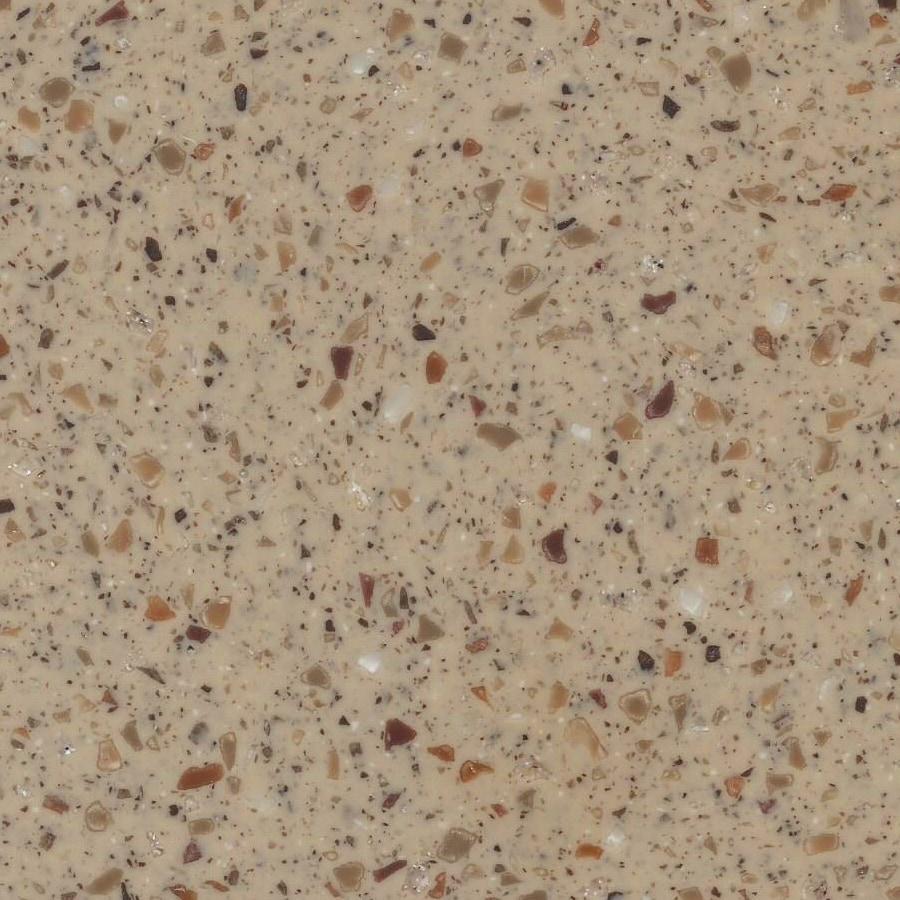Shop lg hi macs nubian solid surface kitchen countertop for Corian solid surface countertops prices