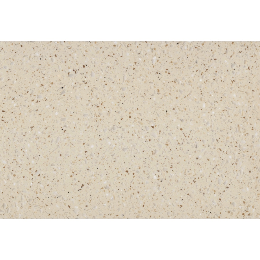 LG HI-MACS Macadamia Solid Surface Kitchen Countertop Sample