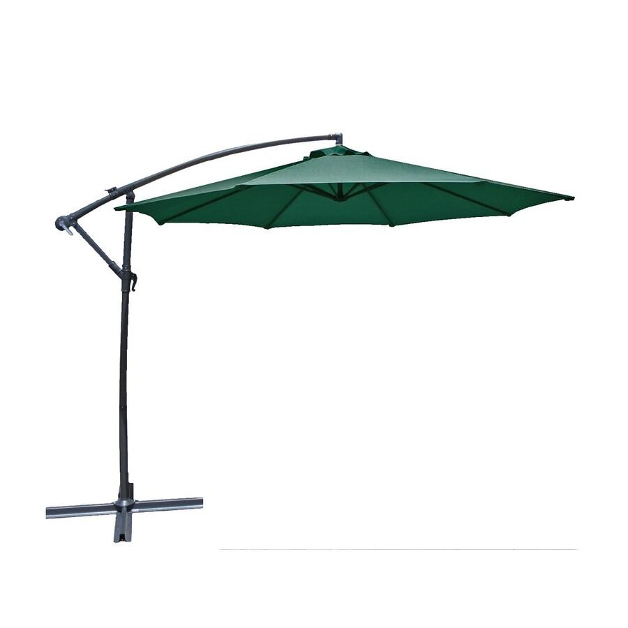Lauren & Company Patio Umbrella (Common: 120-in W x 120-in L; Actual: 120-in W x 120-in L)