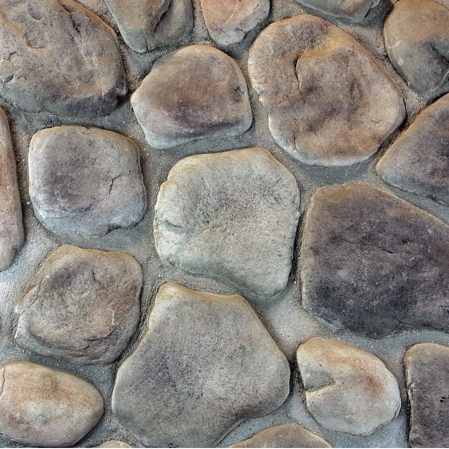 M-Rock Clearwater River Gray Molded Corner Stone Veneer Trim
