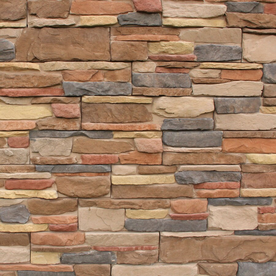 Shop M Rock Msi Meridian Ledge Brown Molded Corner Stone