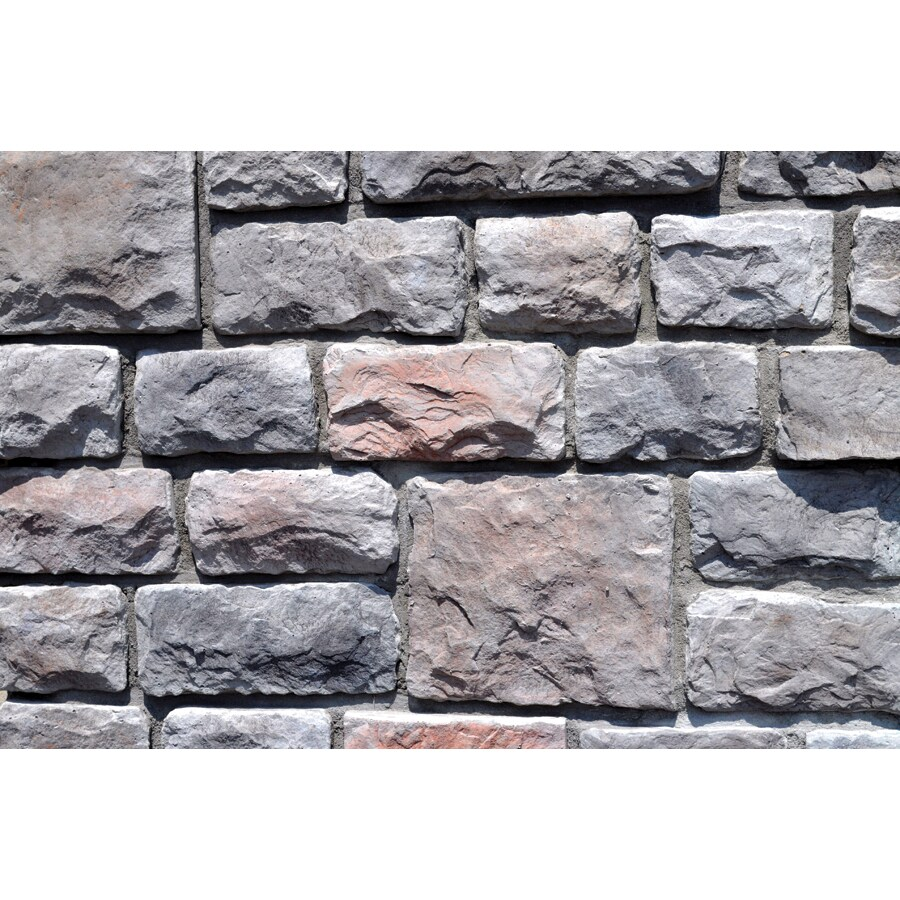 M-Rock Cumberland Colonial Cobble Gray Molded Corner Stone Veneer Trim