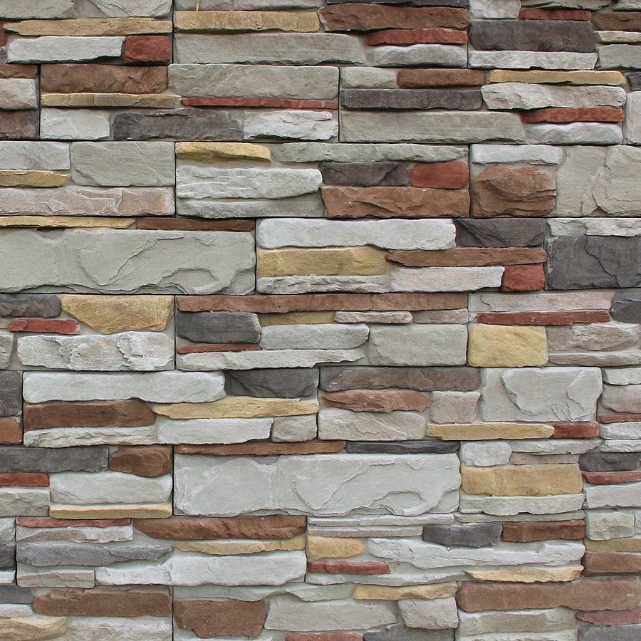 M-Rock MSI Aspen Ledge 39.2-sq ft Brown Stone Veneer