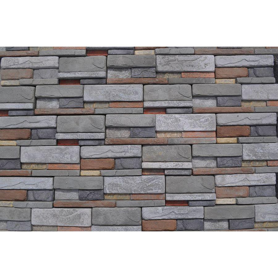 M-Rock MSI Reveal Dry Stack 39.2-sq ft Brown Stone Veneer