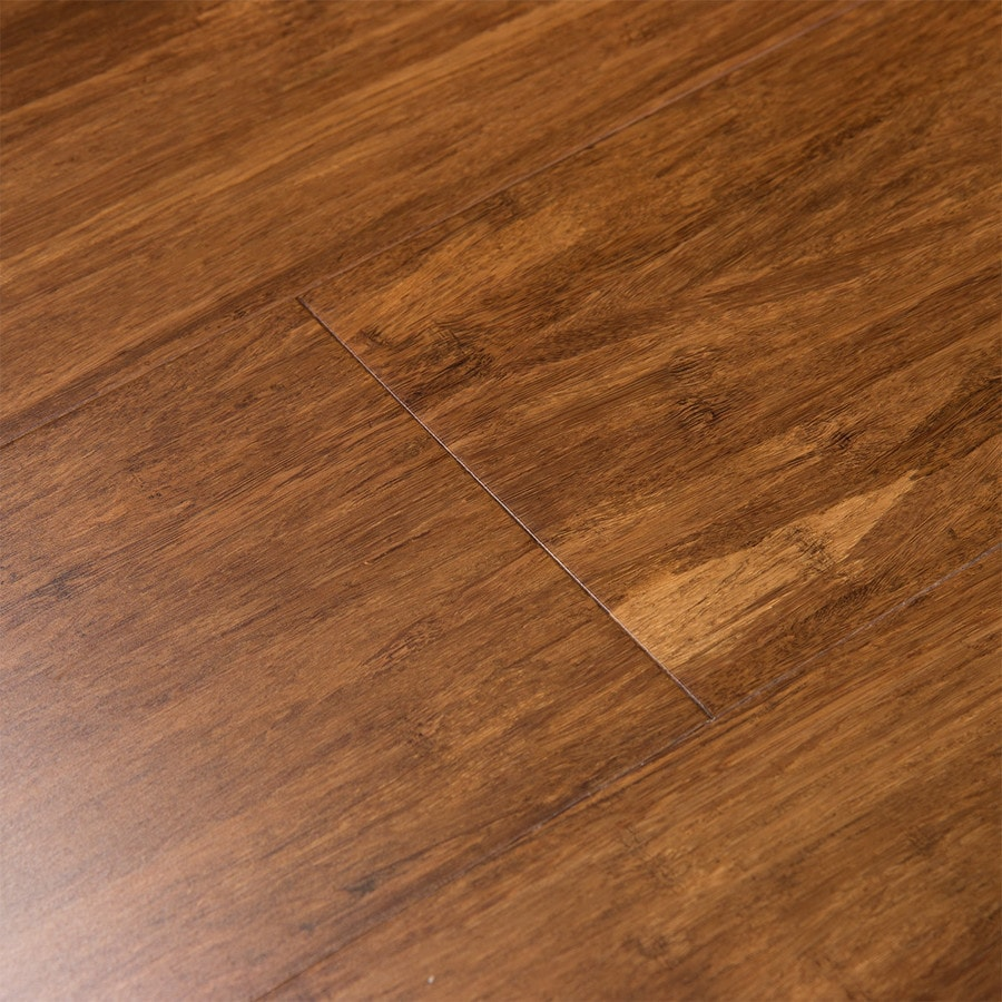 Width X Random Length Fossilized 5 In Java Bamboo Hardwood Flooring  (25.88 Sq Ft) Product Photo ...
