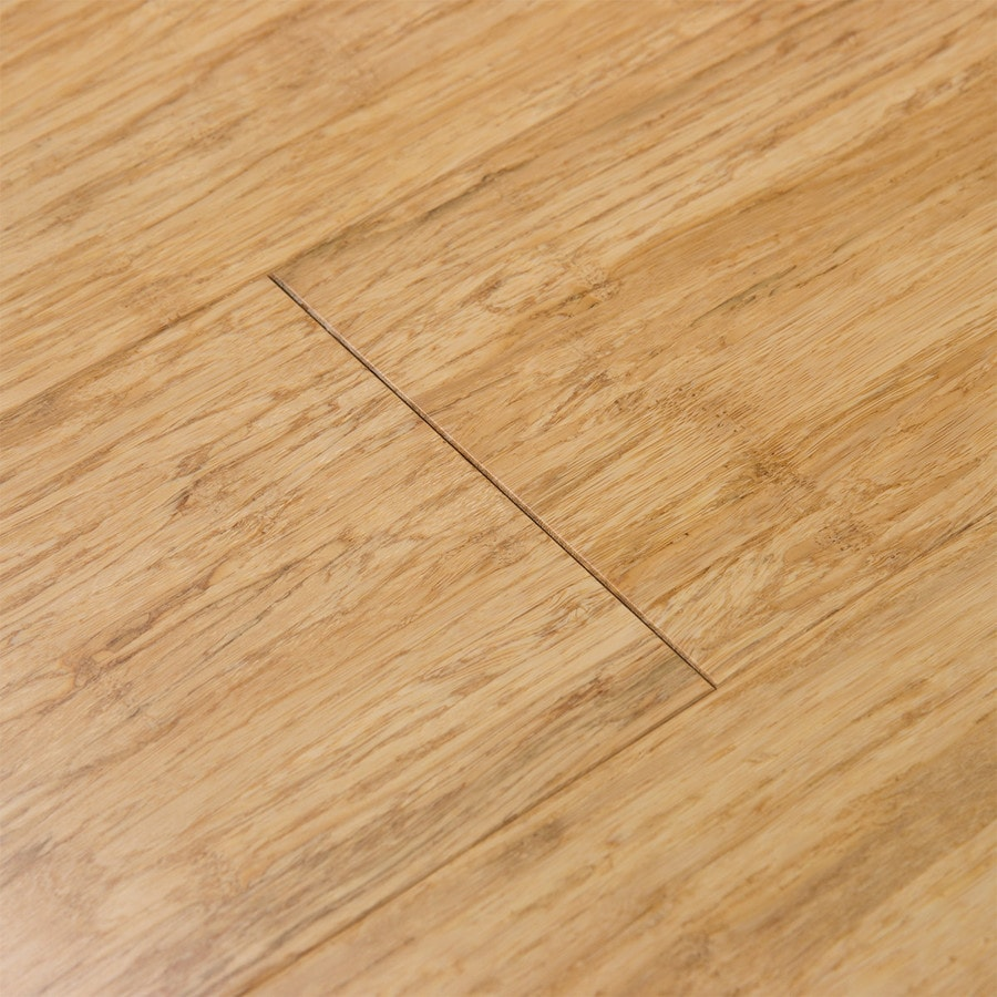 ... Fossilized 5.12 In Natural Bamboo Hardwood Flooring (25.88 Sq Ft)  Product Photo