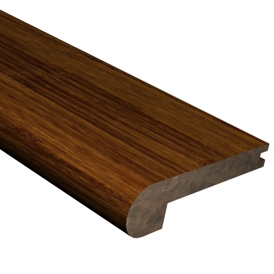 Cali Bamboo 0.88-in x 72-in Java Bamboo Stair Nose Floor Moulding