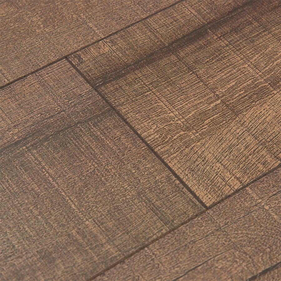 Shop cali bamboo 7 in driftwood smooth traditional cork for Cork flooring reviews
