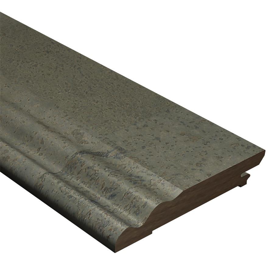 Cali Bamboo 0.56-in x 94-in Dark Grey Cork Base Floor Moulding