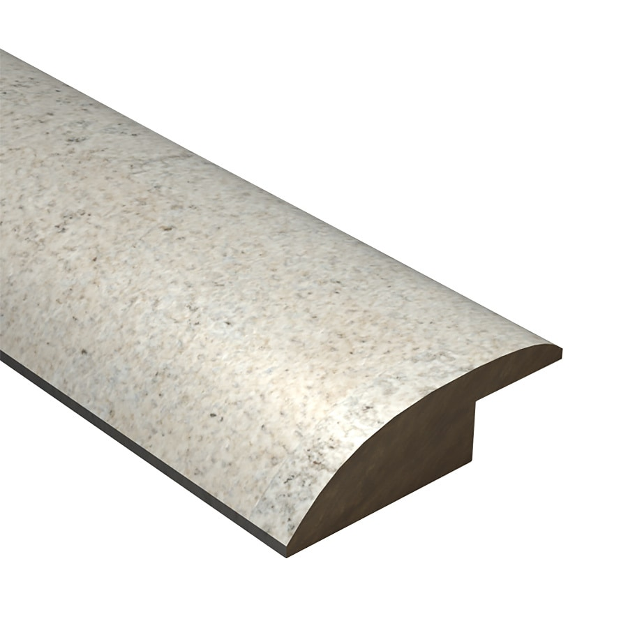 Cali Bamboo 2.12-in x 78-in White Cork Reducer Floor Moulding