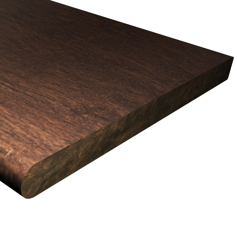 Cali Bamboo Stained Bamboo Interior Stair Tread (Common: 12-in x 48-in; Actual: 12-in x 48-in)