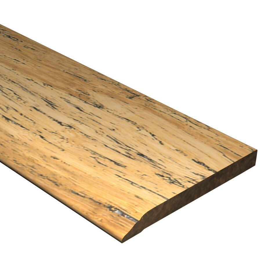 Cali Bamboo 0.50-in x 72-in Distressed Natural Bamboo Base Floor Moulding