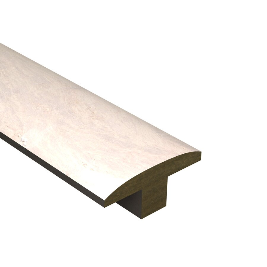 Cali Bamboo 2-in x 72-in White Bamboo T-Moulding Floor Moulding