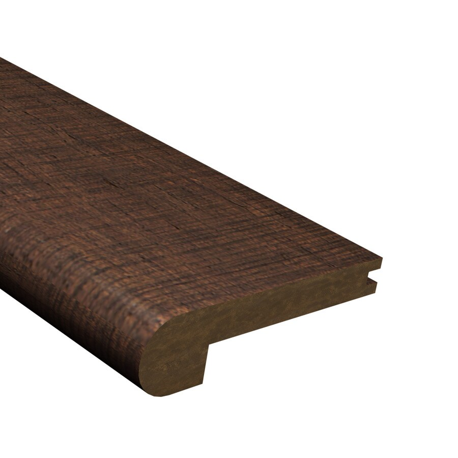 Cali Bamboo 3.25-in x 72-in Brown Bamboo Stair Nose Floor Moulding