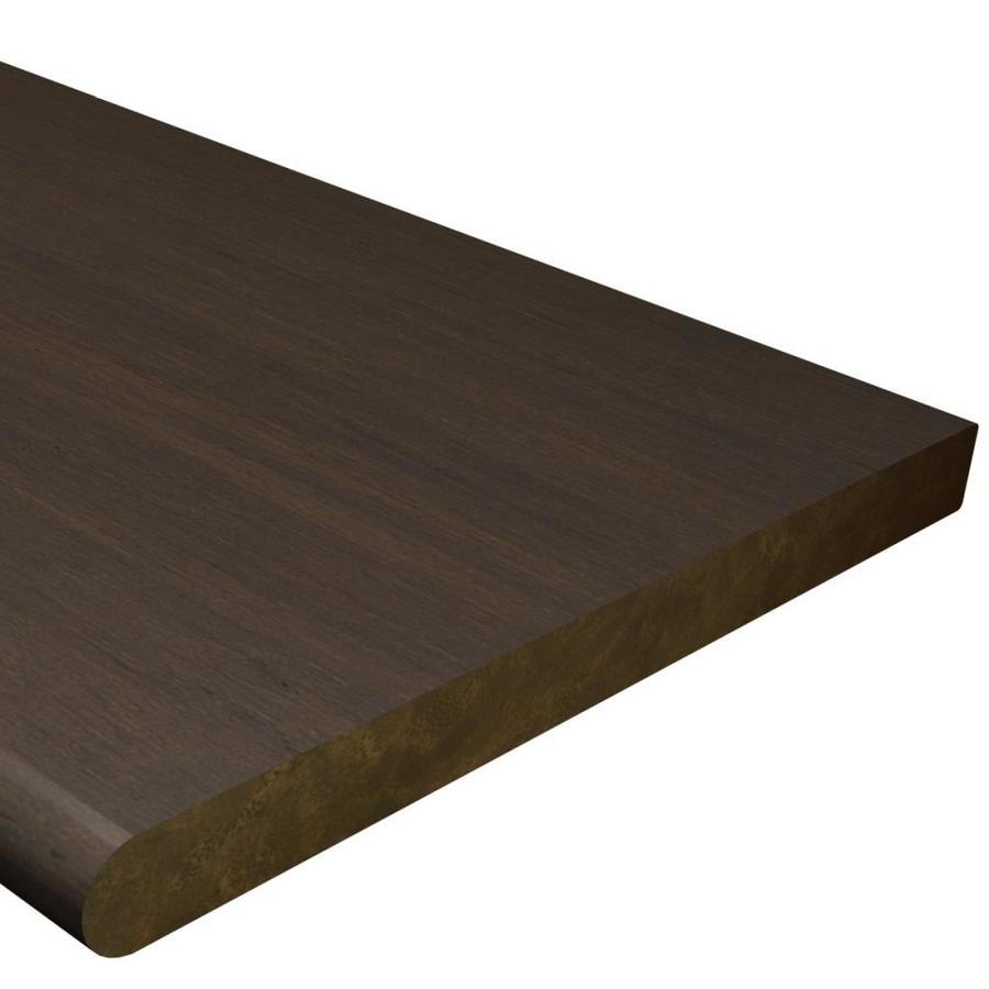 Cali Bamboo 12-in x 48-in Brown Prefinished Bamboo Stair Tread