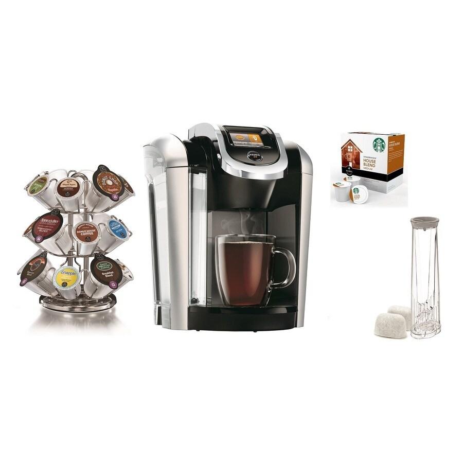 Starbucks Special Coffee Maker : Shop Keurig Black Programmable Single-Serve Coffee Maker at Lowes.com