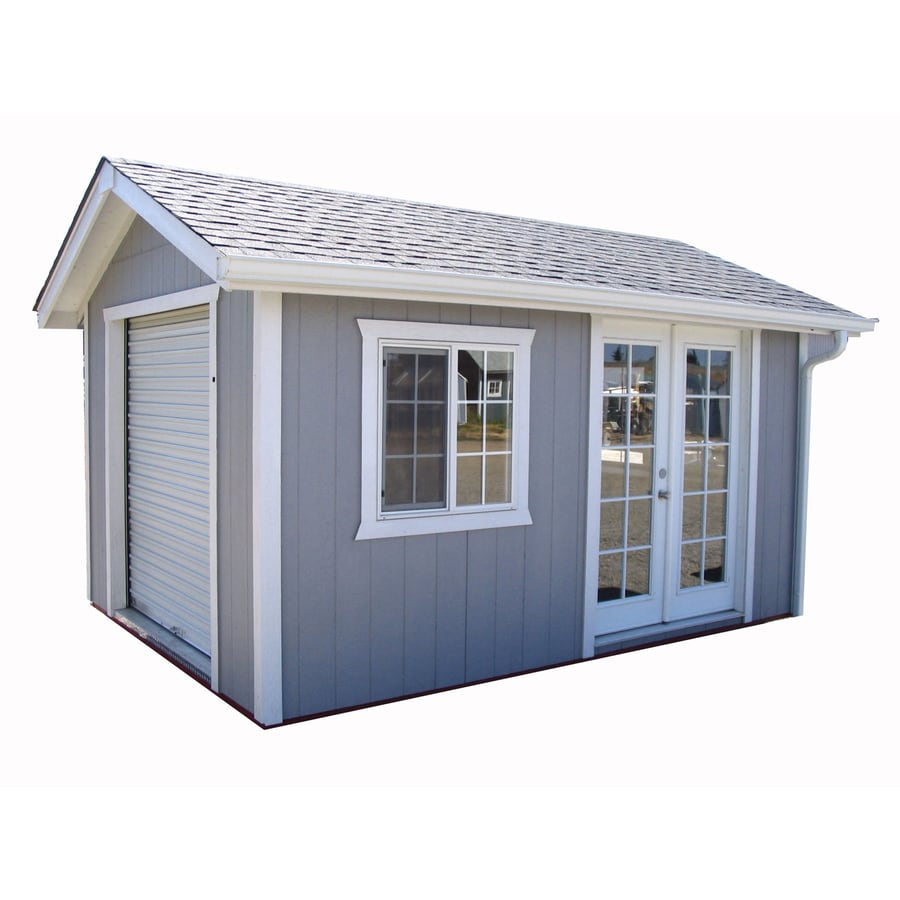 Shop better built barns grand legacy gable wood storage for Lowes storage sheds