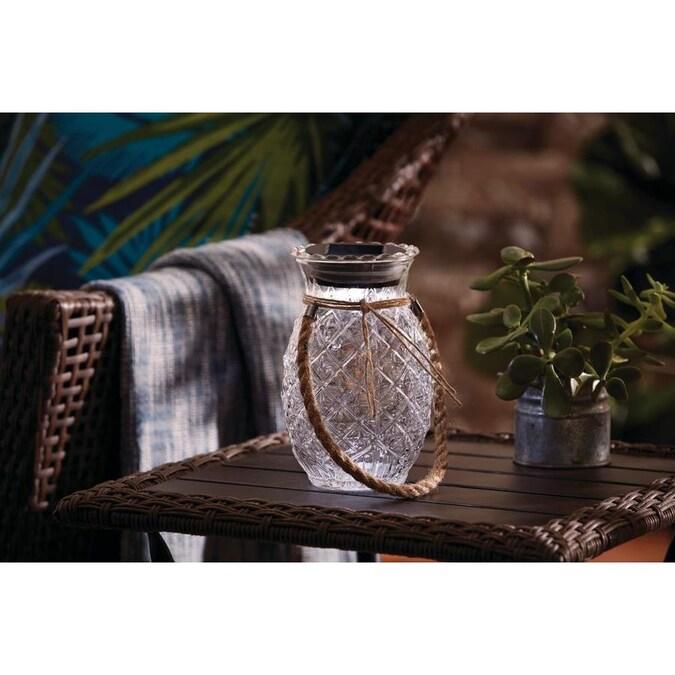 JOURS ENSOLEILLÉS Hawaiian 12 ft Papier Lanterne Guirlande Décoration Avec Tissu Fleurs environ 3.66 m