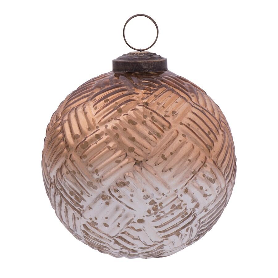 allen + roth Copper and Silver Ornament