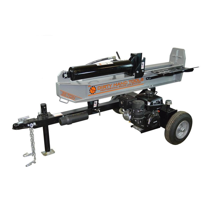 Dirty Hand Tools 35-Ton Hydraulic Gas Log Splitter